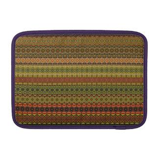 Vintage tribal aztec pattern MacBook sleeve