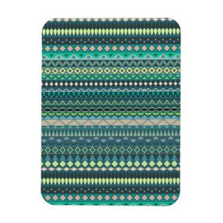 Vintage tribal aztec pattern magnet