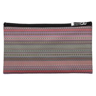 Vintage tribal aztec pattern makeup bag