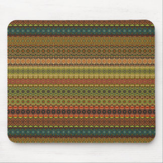 Vintage tribal aztec pattern mouse pad