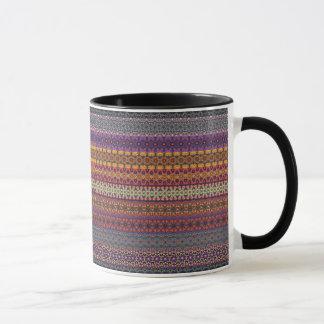 Vintage tribal aztec pattern mug