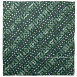 Vintage tribal aztec pattern napkin