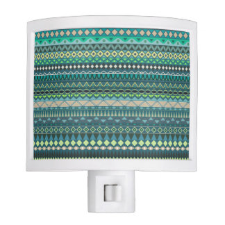 Vintage tribal aztec pattern night lite