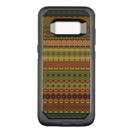 Vintage tribal aztec pattern OtterBox commuter samsung galaxy s8 case