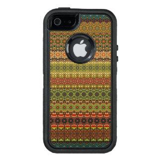 Vintage tribal aztec pattern OtterBox defender iPhone case