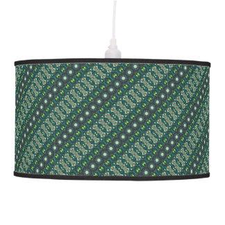 Vintage tribal aztec pattern pendant lamp