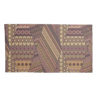 Vintage tribal aztec pattern pillowcase
