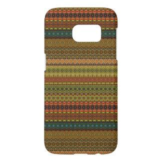 Vintage tribal aztec pattern samsung galaxy s7 case