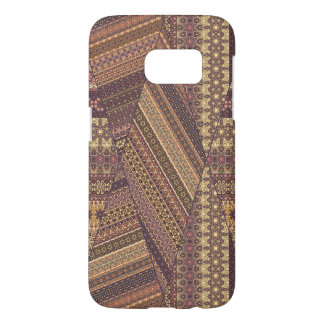 Vintage tribal aztec pattern samsung galaxy s7 case