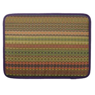 Vintage tribal aztec pattern sleeve for MacBook pro