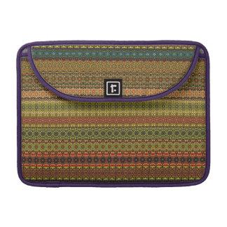Vintage tribal aztec pattern sleeve for MacBooks