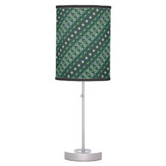 Vintage tribal aztec pattern table lamp