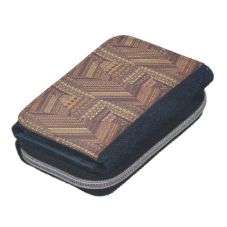 Vintage tribal aztec pattern wallets