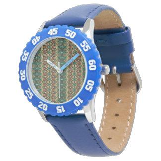 Vintage tribal aztec pattern watches