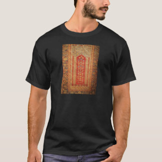Vintage Tribal Diamonds Pattern Red T-Shirt
