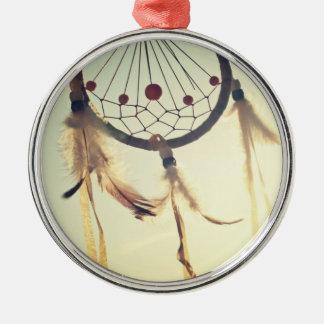Vintage Tribal Hipster Dream Catcher Ornament