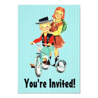Vintage Trike Custom Invite