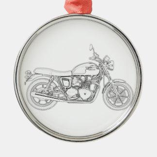 Vintage Triumph  Metal Ornament