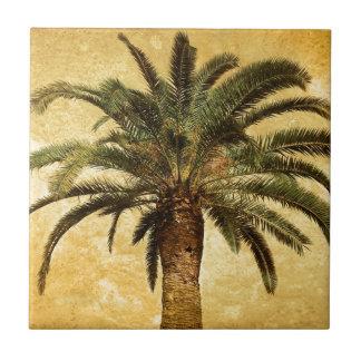 Vintage Tropical Palm Tree Tiles