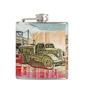 Vintage Truck Flask