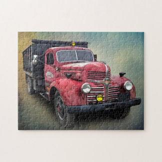 VINTAGE TRUCK JIGSAW PUZZLE