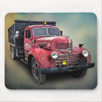 VINTAGE TRUCK MOUSE PAD