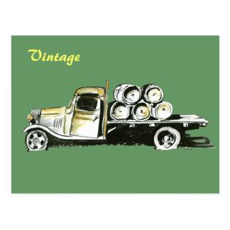 Vintage Truck v.1 Postcard