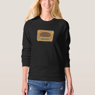 Vintage Tube Radio Collector Sweatshirt