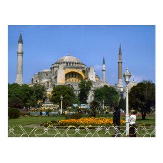 Vintage Turkey - Istanbul Hagia Sophia Postcard