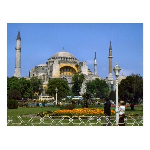 Vintage Turkey - Istanbul Hagia Sophia Post Cards