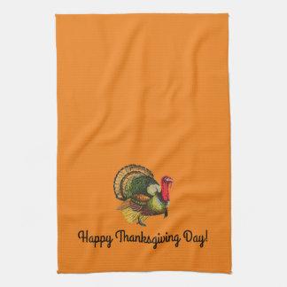 Vintage Turkey Kitchen Towel