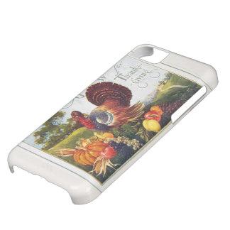 Vintage Turkey Thanks iPhone 5C Cover