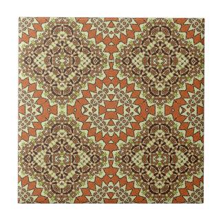 Vintage Turkish Pattern Tile