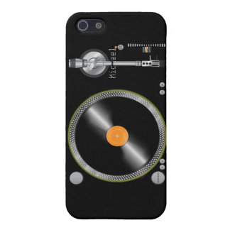 ** Vintage Turntable iPhone 5 Case