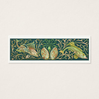 Vintage Twin Fishes Business Card
