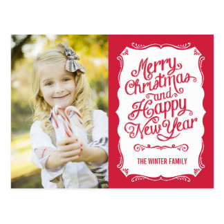 Browse the Christmas Postcards Collection and personalize by color, design, or style.