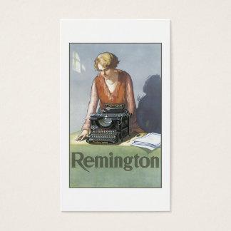 Vintage Typewriter Business Card