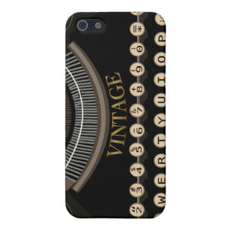 Vintage Typewriter iPhone Case iPhone 5 Cover