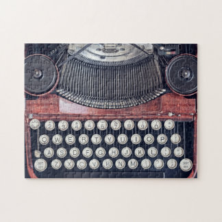 Vintage Typewriter Jigsaw Puzzle