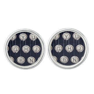 Vintage Typewriter Keys Cufflinks