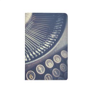 Vintage Typewriter notebook Journals