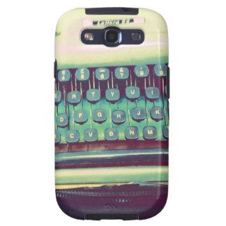 Vintage Typewriter Samsung Galaxy SIII Cases