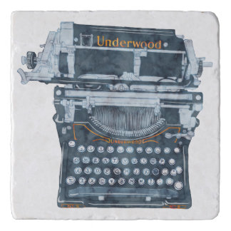 Vintage Typewriter Trivet