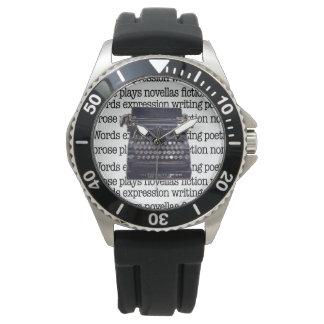 Vintage Typewriter Wrist Watch