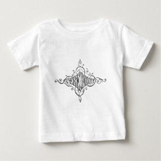 vintage typography CEREMONY wedding script Baby T-Shirt