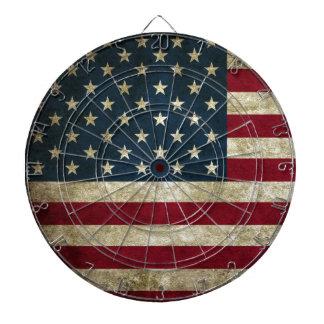 Vintage U.S. Flag Dartboard