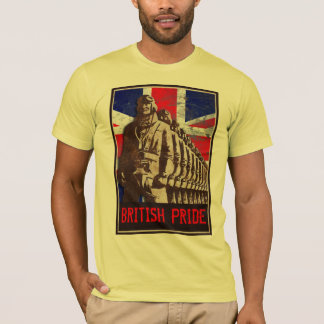 Vintage UK - BRITISH PRIDE - Customizable T-Shirt