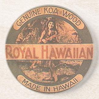 Vintage Ukulele Label Coaster
