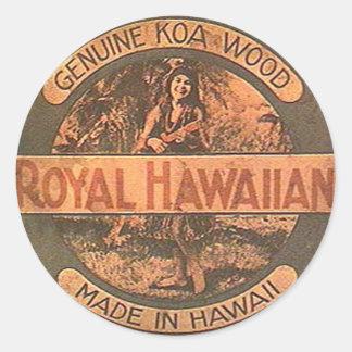 Vintage Ukulele Sticker