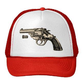 Vintage UMC Revolver Gun Pistol Red Trucker Hat